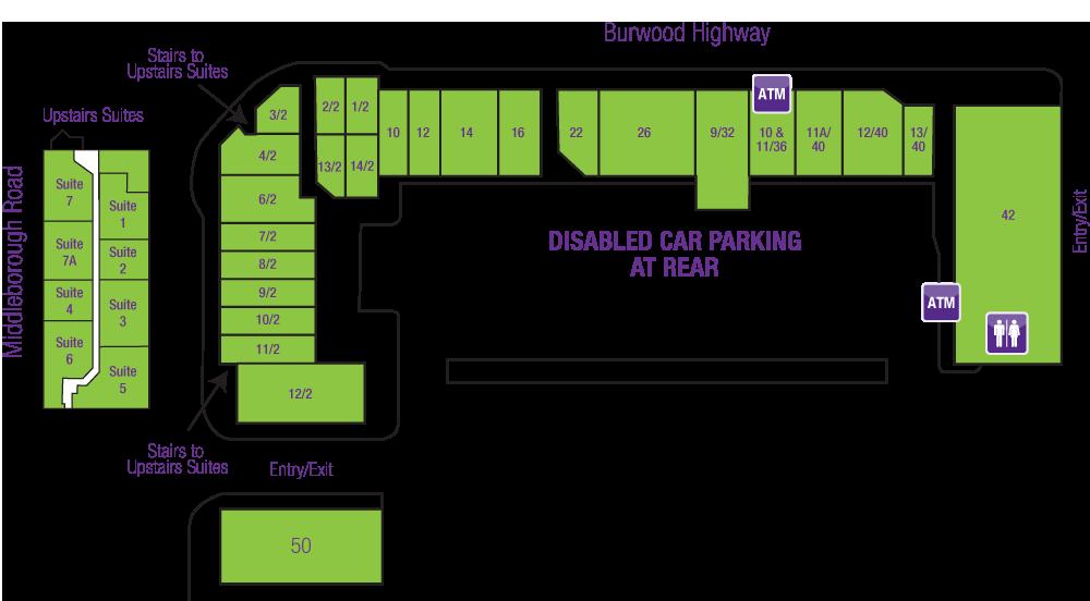 Burwood Heights Shops Map